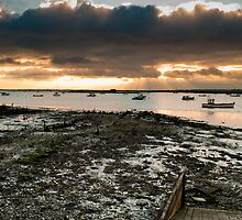 View from West Mersea, Essex by David Isaacson