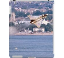 Typhoon Passing Exmouth - Dawlish Air Show 2015 iPad Case/Skin