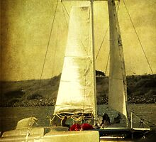 Sailing away by Susanne Van Hulst