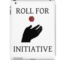 D20- Role for Initiative iPad Case/Skin