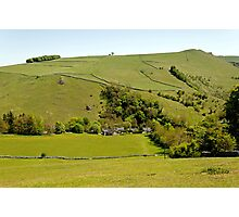 Overlooking Milldale Photographic Print