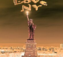 Statue of Liberty New York City by TomSpencer