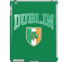 Dublin, Ireland with Shamrock iPad Case/Skin