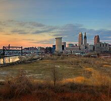 Cleveland Skyline by antonalbert1
