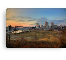 Cleveland Skyline Canvas Print