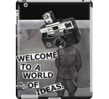 Welcome to a World of Ideas iPad Case/Skin