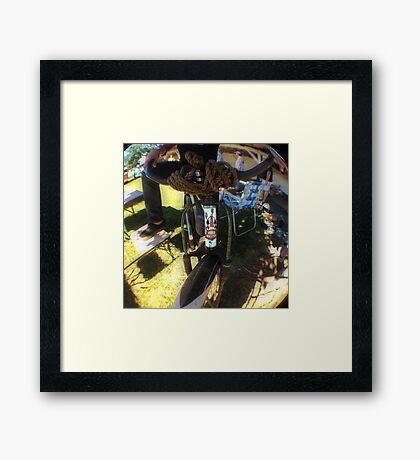 The Roadmaster  Framed Print