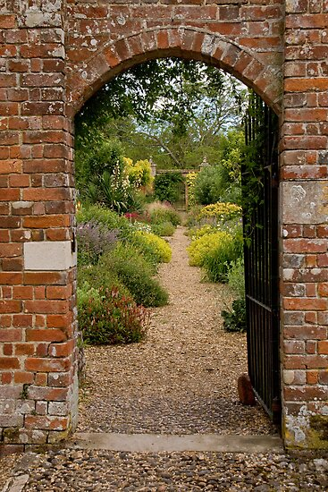Walled garden by Jennifer Bradford