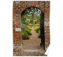 Walled garden Poster