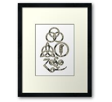 TRIQUETRA - the clouds2 L Framed Print