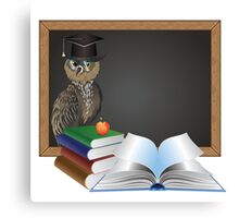 Wise Owl 3 Canvas Print