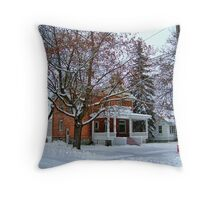 Montana Wonderland Throw Pillow