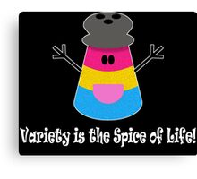 Parody: Variety is the Spice of Life! (Pansexual) Canvas Print