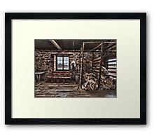 Shearer's Waiting Room Framed Print