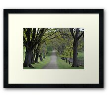 pretty when you're just visiting Framed Print
