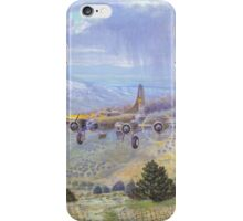 Her Majestys Last Landing iPhone Case/Skin