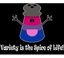 Parody: Variety is the Spice of Life! (Bisexual) Photographic Print