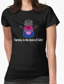 Parody: Variety is the Spice of Life! (Bisexual) Womens Fitted T-Shirt