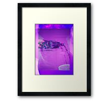 dirty sprite glitched Framed Print