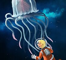 Space Jellyfish by Tittus