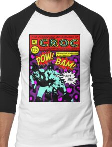 Croc Roller Comic Men's Baseball ¾ T-Shirt