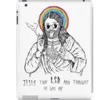 Bad Jesus :( iPad Case/Skin