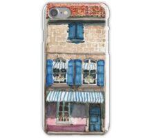 Pink House in Arles iPhone Case/Skin