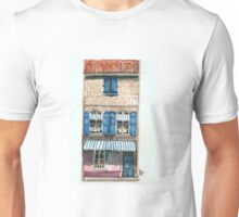 Pink House in Arles Unisex T-Shirt