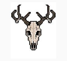 Pixel Deer Skull Unisex T-Shirt