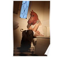 Horse Stew in the Loo Poster