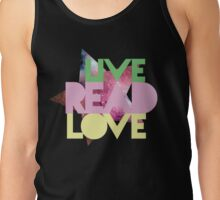 Live Read Love Tank Top
