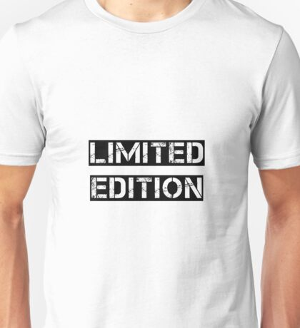 Limited Edition Unisex T-Shirt