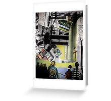 Information overload/so many images,so little time Greeting Card