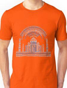TAJMAHAL TYPOGRAPHY Unisex T-Shirt
