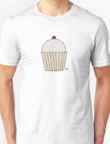Sweet Strawberry Cupcake - Part of the 'Hungry Monsters Collection' T-Shirt