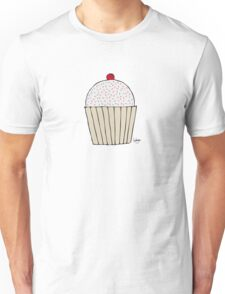 Sweet Strawberry Cupcake - Part of the 'Hungry Monsters Collection' Unisex T-Shirt