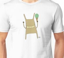 Gary the Rabbit Eating Icecream - Part of the 'Hungry Monsters Collection' Unisex T-Shirt
