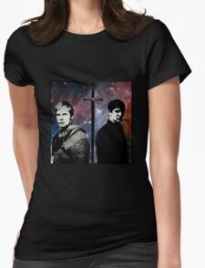 Merlin - two sides Womens Fitted T-Shirt