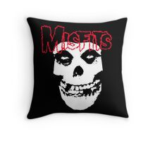 Classic Misfits Throw Pillow