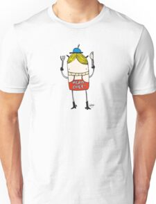 Head Chef - Part of the 'Hungry Monsters Collection' Unisex T-Shirt