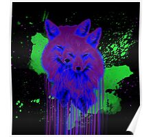 Psychedelic Foxes  Poster