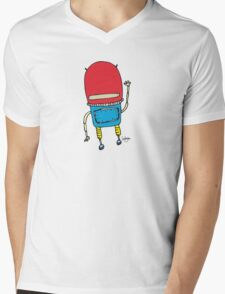 Space Man - Part of the 'Hungry Monsters Collection' Mens V-Neck T-Shirt