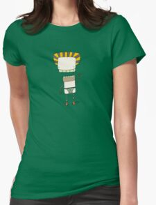 Stubble Stewart - Part of the 'Hungry Monsters Collection' Womens Fitted T-Shirt