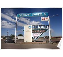 Route 66 - Desert Skies Motel Poster