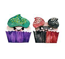 Baked Bad Guys (Joker & Harley) Photographic Print