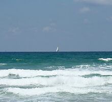 Wonderful day at the beach in Tel Aviv - Israel by haya1812
