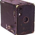 Old Brownie camera by Pieta Pieterse