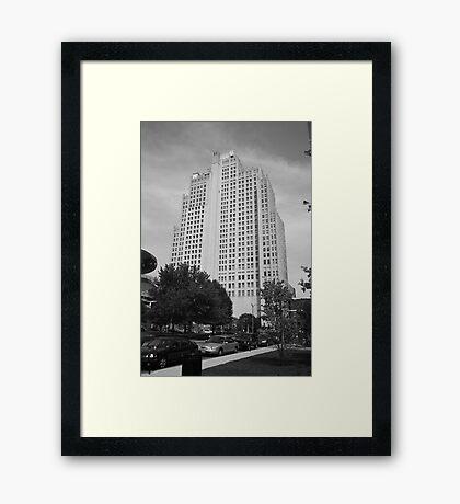 St. Louis Skyscraper Framed Print