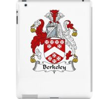Coat of arms (family crest) for last-name or surname Berkeley . Heraldry banner for your name. iPad Case/Skin