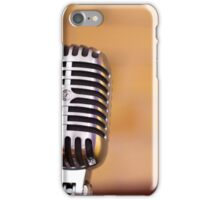 All I need is one mic. iPhone Case/Skin
